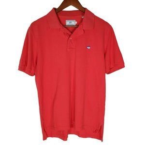 Southern Tide Mens The Skipjack Pink polo S